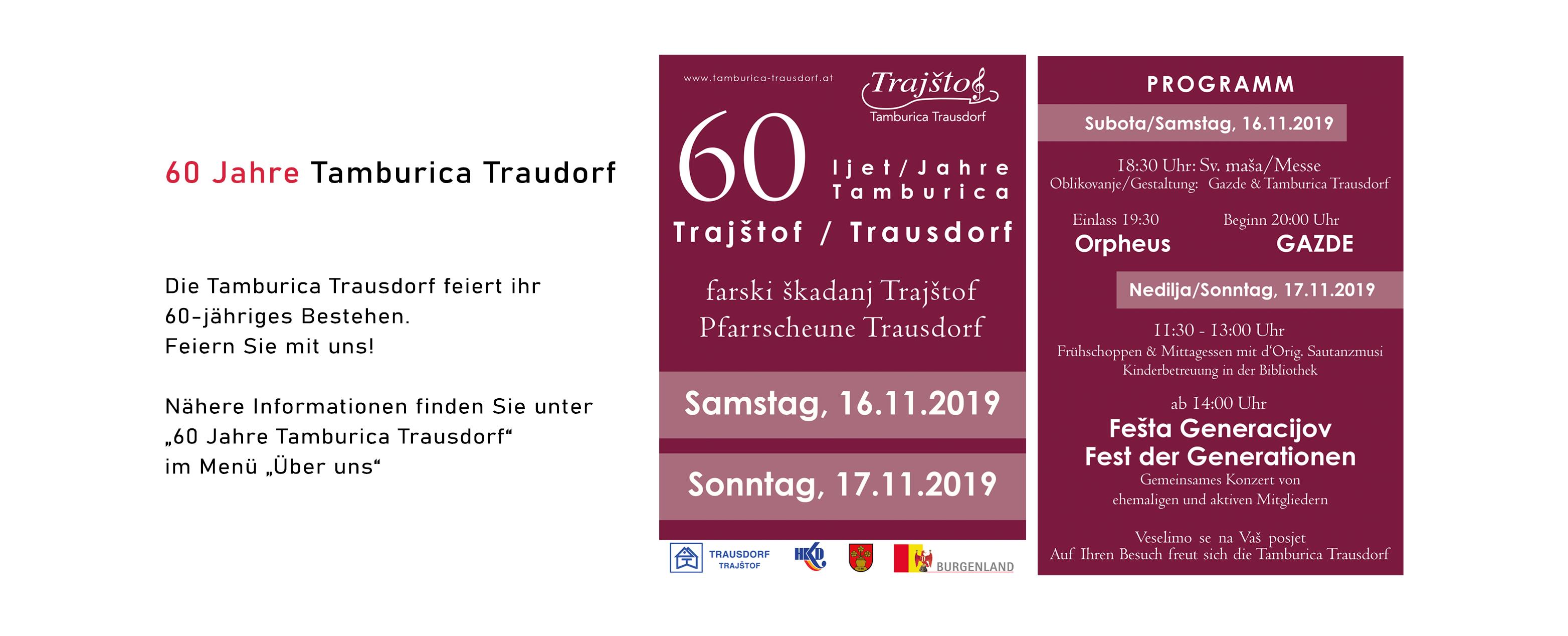 60 Jahre Tamburica Trausdorf